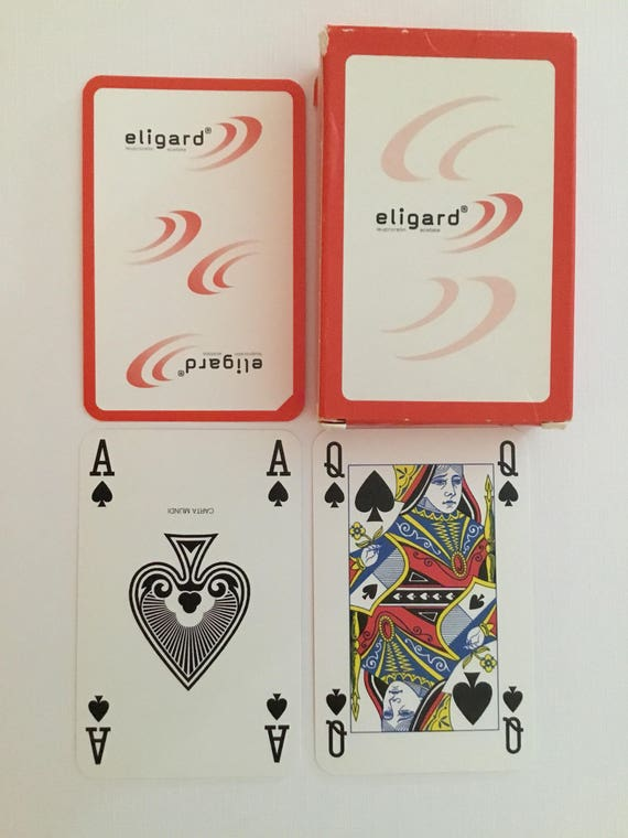 Eligard Playing Cards Red Back Boxed Deck