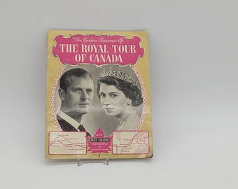 The Royal Tour of Canada, Golden Souvenir. Daily Graphic. Stanley Devon.