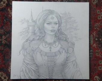 Gabrielle early renaissance du16eme century
