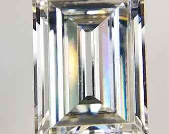 GIA certified 1.80 MVS2 Antique Carre Vintage Cut Diamond Emerald like