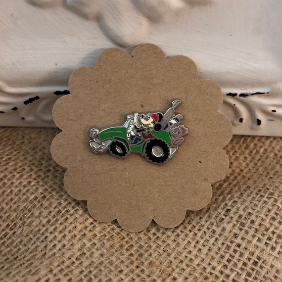 Walt Disney Travel Company Flex Pin (Mickey in Dune Buggy), Pin #19280