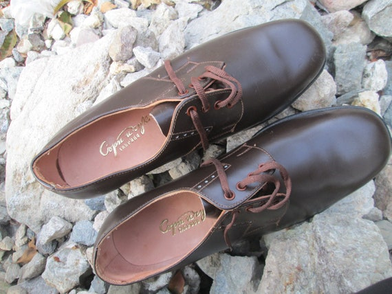Vintage military shoes, Brown leather shoes, Offi… - image 8