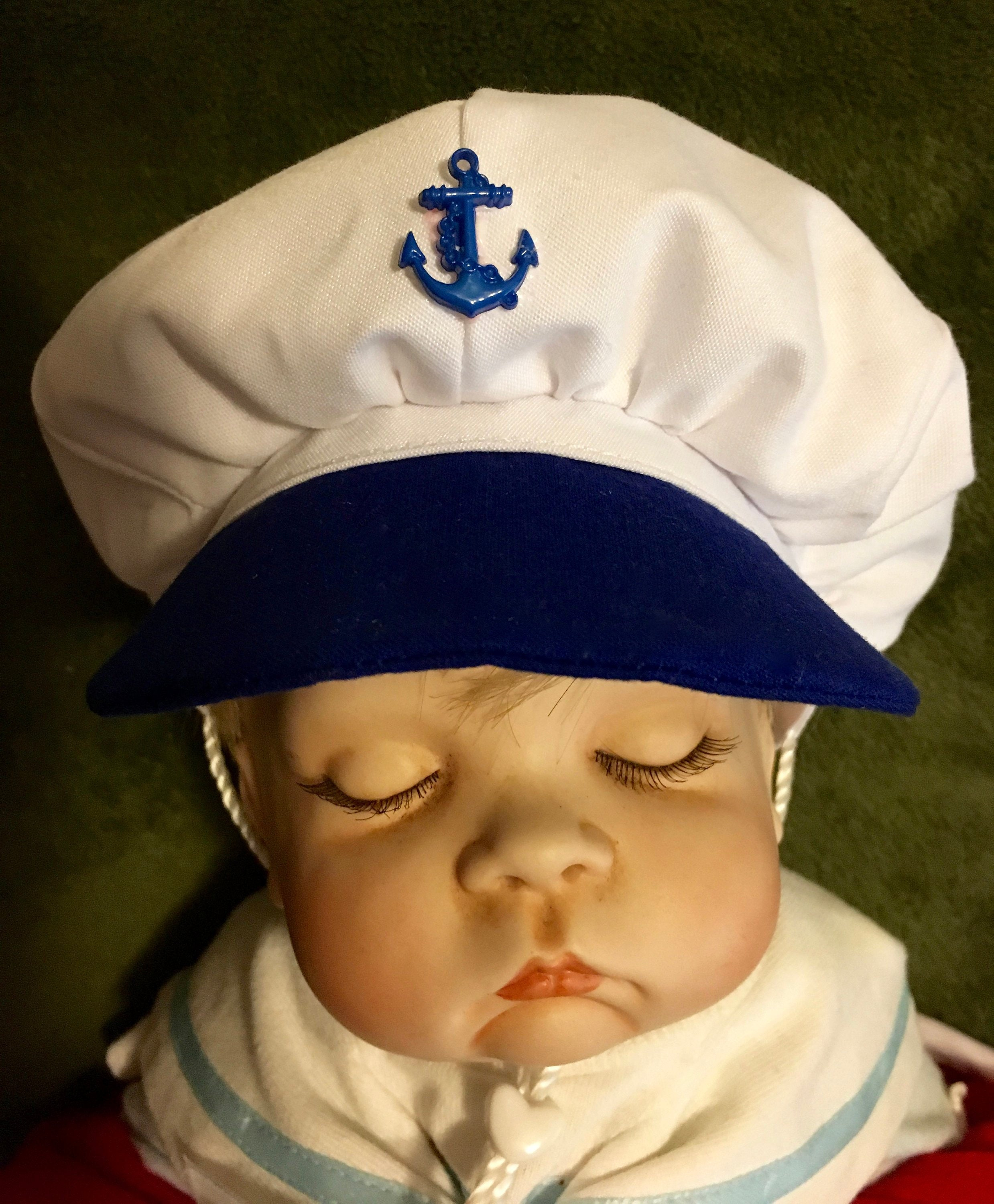 Infant Nautical Captain s hat  e4a9693a8fb