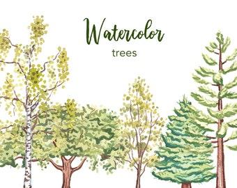 Tree Clipart Etsy