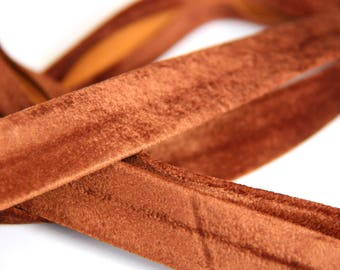 bias imitation brown suede clear 18mm