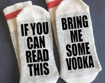 Vodka Gift Socks Bring Me For Him Alcohol Boyfriend Under 20 Lover Gifts Dad Birthday