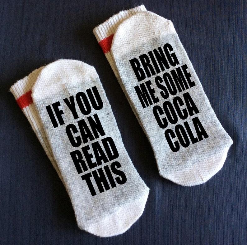Coke Coca Cola Gift Sock Soda Lover Shirt Boyfriend Birthday For Her Under 20 Mom Gifts