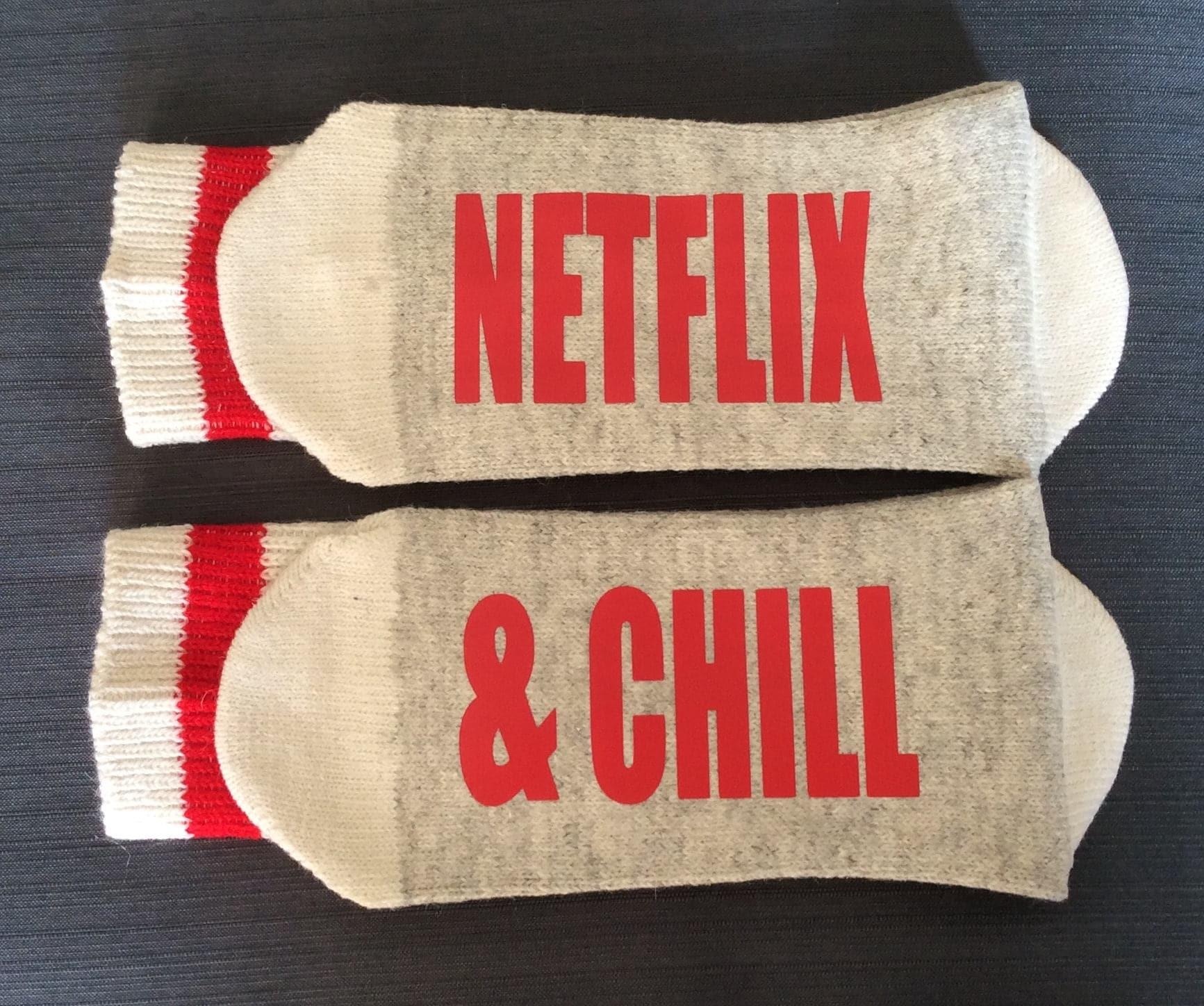 Socken Strumpf Stuffer Netflix Netflix-Netflix & Chill-Netflix | Etsy