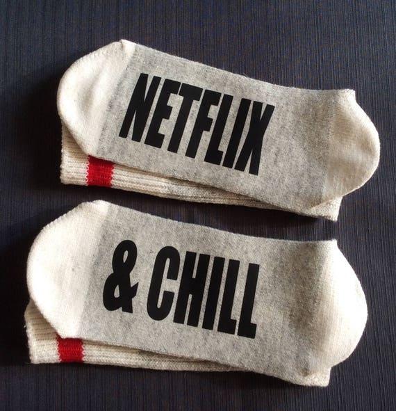 Netflix Netflix Socken Netflix Chill Netflix Etsy