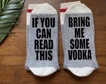 Vodka-Vodka Gift-Vodka Sock-Gift for Him-Alcohol Gift-Boyfriend-Gift Under 20-Vodka Lover Gift-Gifts for Dad-Birthday Gift