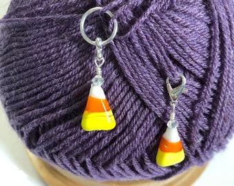 Candy Corn Stitch markers