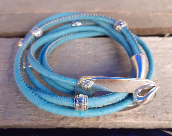 Cork Wrap Bracelet