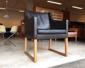 60 39 s original Bérge Mogensen Armchair Type 3246 Danish Design Chair to Teak Mid Century Armchair Leather Armchair