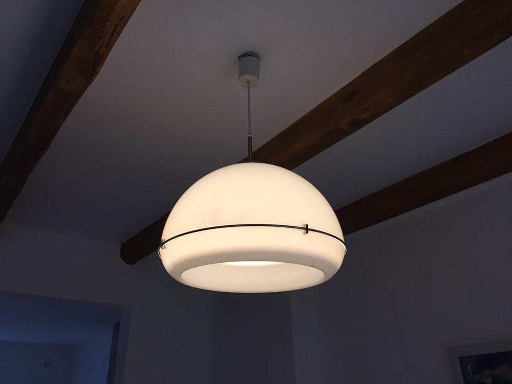 Rara 60s 70s Design Lampada A Sospensione Harvey Guzzini