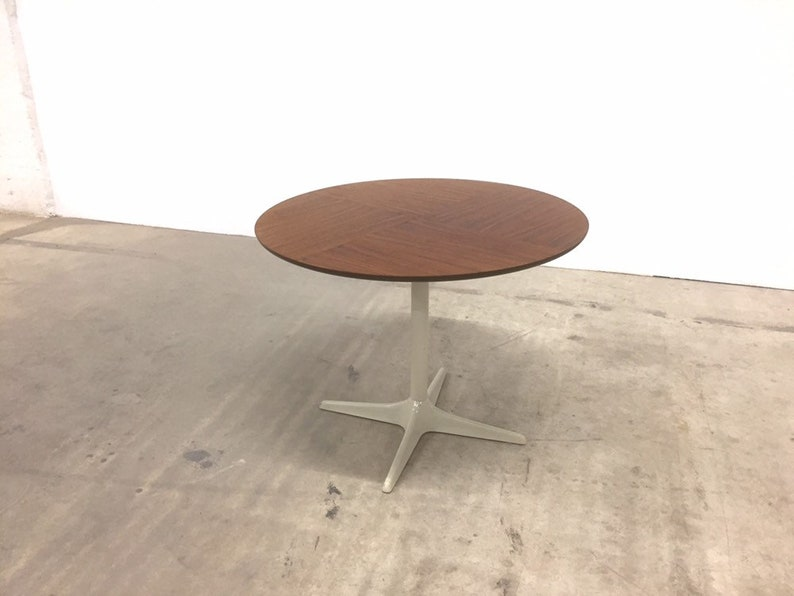 50s 60s minimalista tedesco Opal Side Table Mid Century Table DYGqe1XK