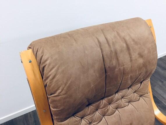 60er Design Easy Mid Lounge Leder Rare Asko Chair 70er Century Sessel Finnland 80OvNmnwPy