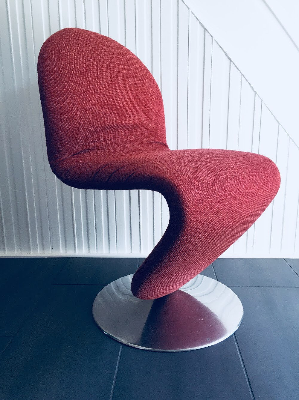 2x original verner panton 1 2 3 system chairs for fritz hansen etsy. Black Bedroom Furniture Sets. Home Design Ideas