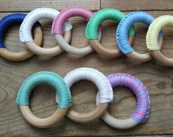 Cotton teething ring 70mm