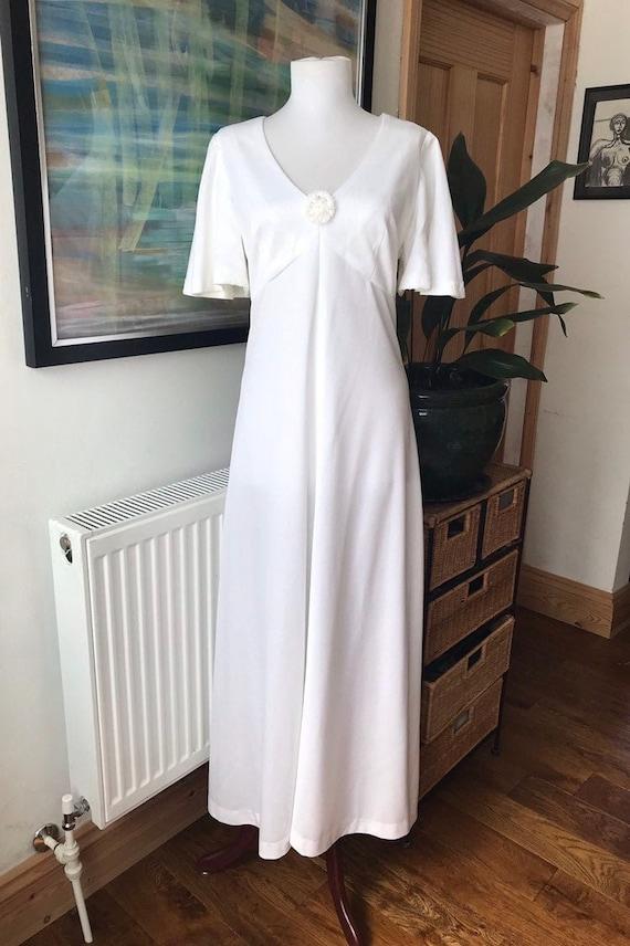 Vintage wedding dress, handmade wedding dress, 196