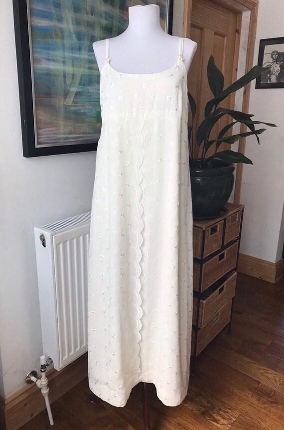 Wedding dress, vintage wedding dress, empire line