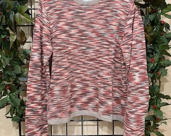 20/% OFF Womens Melange Pullover Alpaca Fleece Sweater