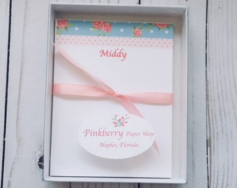 Gift Packaged in Clear Stationery Box