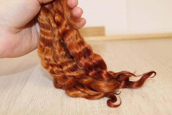 - Reborn mohair Sahara Mohair locks 5  Mohair doll hair Doll hair
