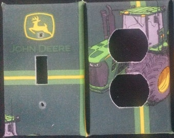 John Deere Light Switch and Outlet Covers, Cool and Fun! Free Shipping