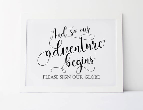 This is a photo of Our Adventure Book Printable with begin