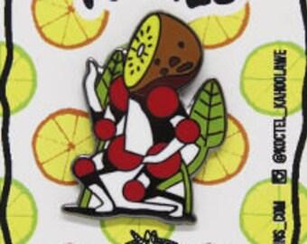 Koctel Dancing Kiwi Hard Enamel Pin