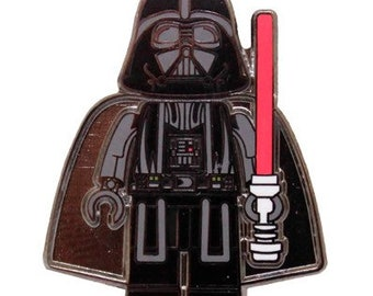 Darth Vader Star Wars Lego Hard Enamel Pin Le
