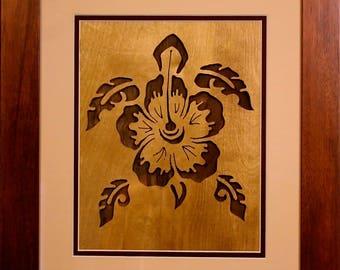 Delicate Beauty - Koa wood framed