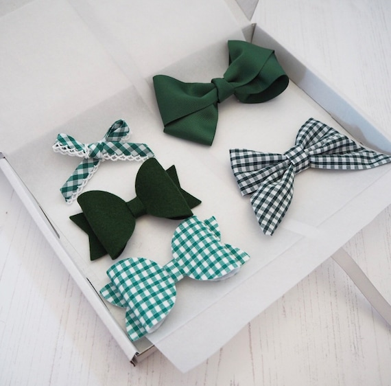 School Bow Set - can be personalised