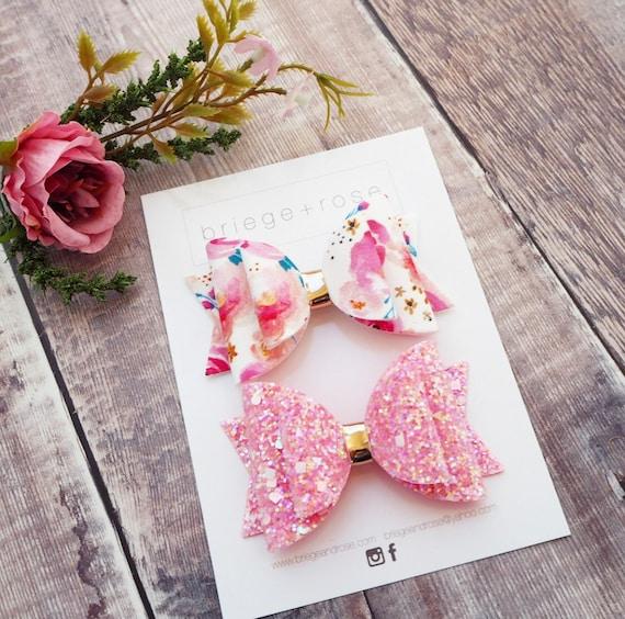 Bubblegum Pink Floral Set