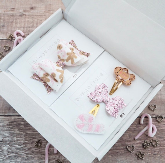 The Christmas Box - Pink Gingerbread