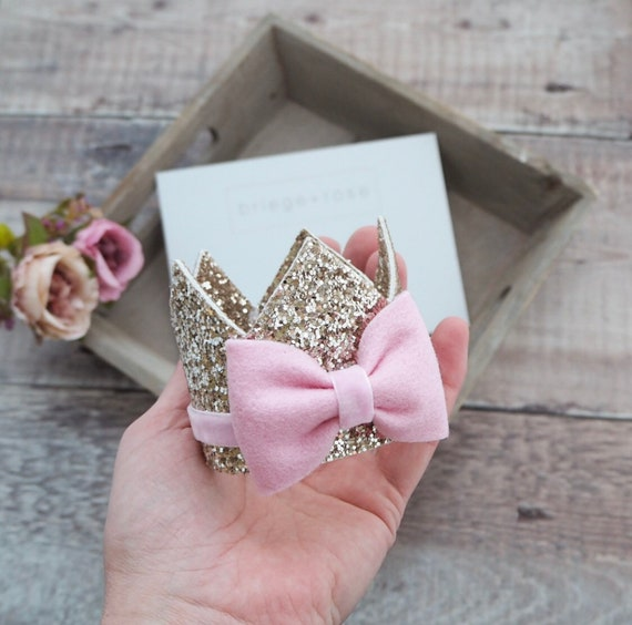 Gold & Pink Crown