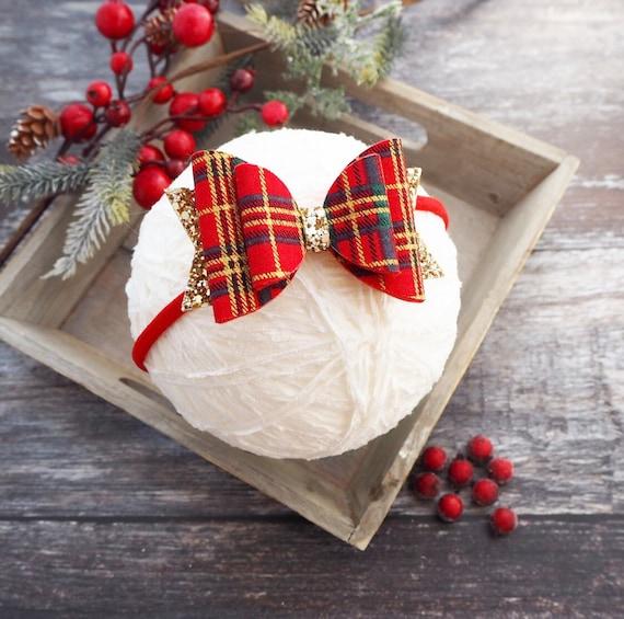 Festive Belle - Red Tartan