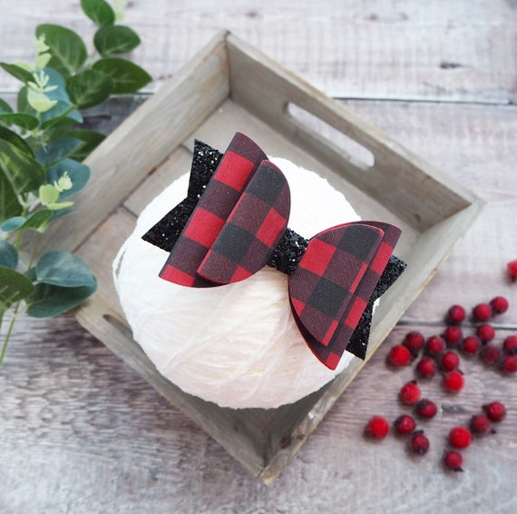 Large Buffalo Plaid Belle