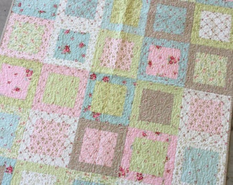 Marvelous Shabby Chic Quilt Etsy Download Free Architecture Designs Scobabritishbridgeorg
