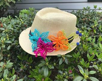 7849b434594ac Tembleque Fedora Hat Panama Hat Panamanian Summer Beach Hat