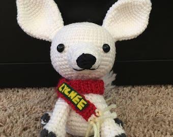 Lychee, The White Chihuahua Dog Amigurumi Crochet Pattern