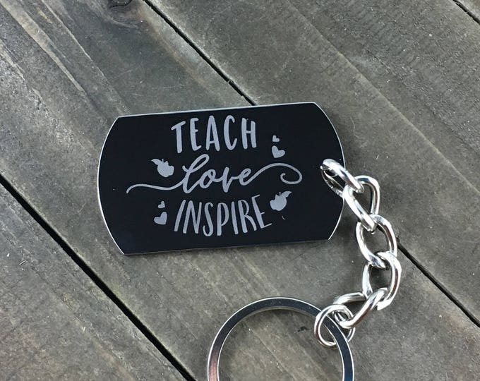 Teach Love Inspire • Teacher thank you gift • Gifts for teachers