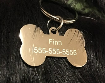 Design your own tag • Custom engraved dog tag