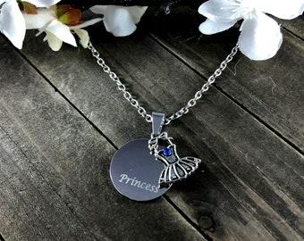 Princess Necklace •Dress pendant
