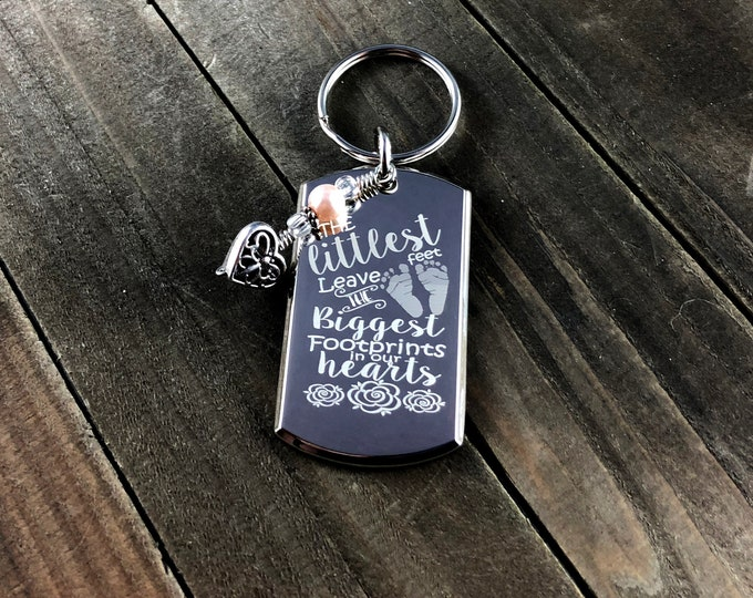 Littlest feet leave the biggest footprints • Mother's Day gift