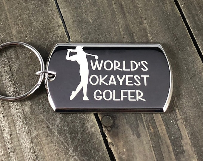 World's okayest golfer • Father's Day gift • Golf