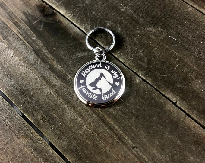 Animal rescue keychain • Animal Lover keychain