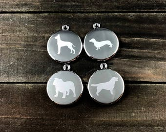 Breed specific dog tag • Boxer dog tag • Lab dog tag