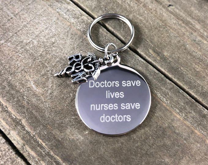 Nurse stethoscope tag • Custom stethoscope tag • Personalized ID tag