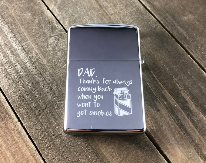 Thanks for always coming back • Fathers day gift